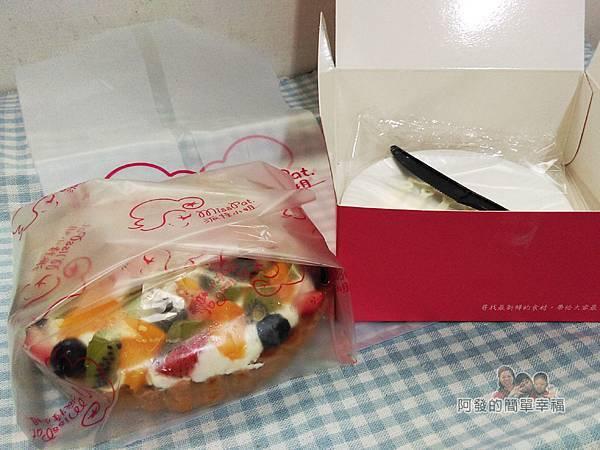 派特小姐03-繽粉水果塔開盒的模樣