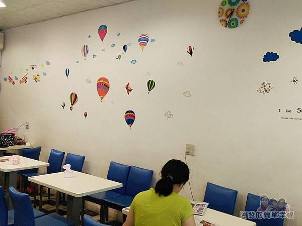 笑咪咪三文治10-牆面繽分熱氣球貼飾