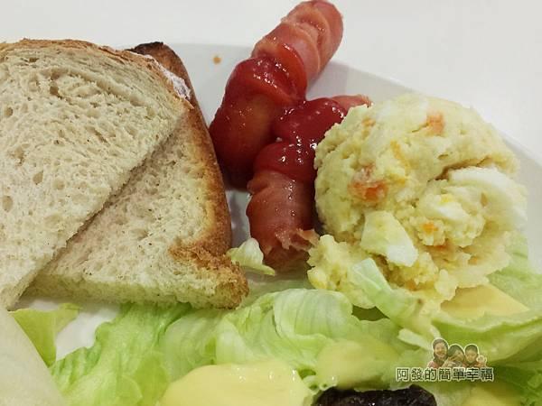 笑咪咪三文治23-4號三文治套餐-薯泥及臘腸