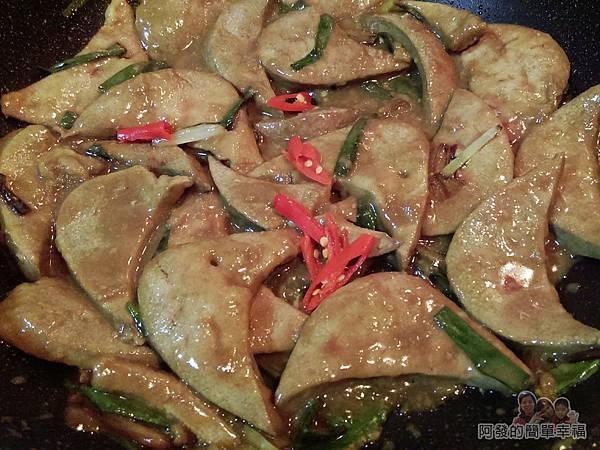 蔥炒豬肝12-下醬料