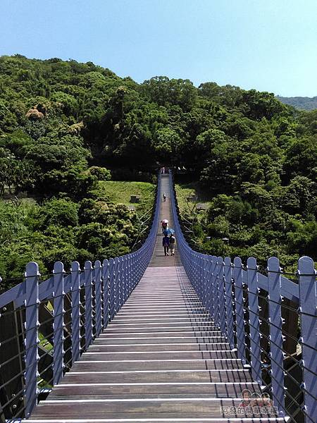 白石湖06-白石湖吊橋上
