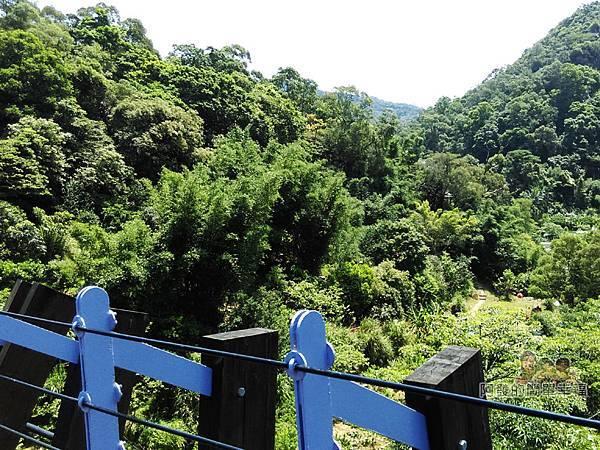 白石湖08-橋上風景下方為龍穴