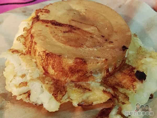 胡家醬爆車輪餅10-起司奶油外觀