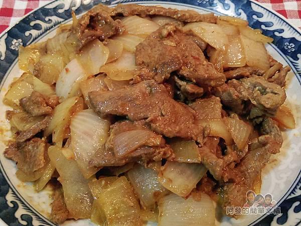 洋蔥辣炒牛肉片10-完成