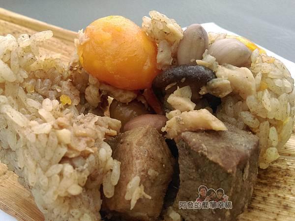 劉家肉粽23-蛋黃粽內餡