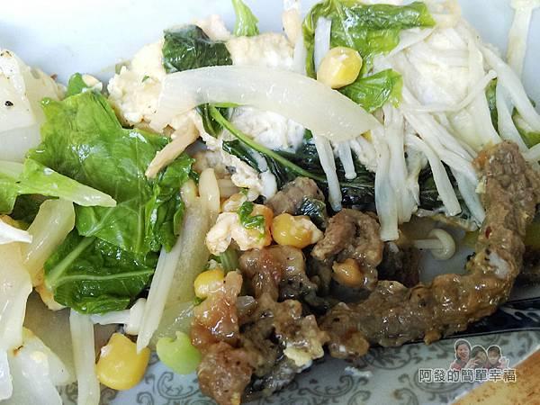 新莊-永和豆漿大王17-河粉牛肉內餡