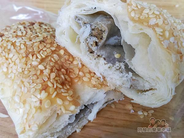新莊-永和豆漿大王28-花生糖餅剖面