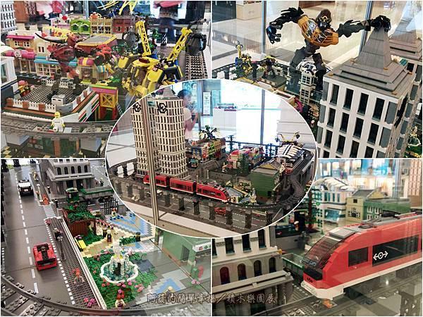 積木樂園展32-A棟2F-城市幻影展區-城市捷運展櫃