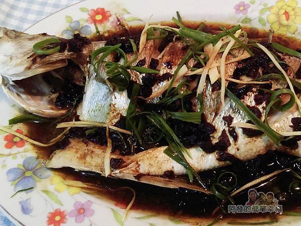 清蒸梅子鱸魚09-特寫