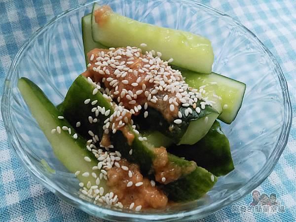 福源花生醬18-花生醬涼拌小黃瓜
