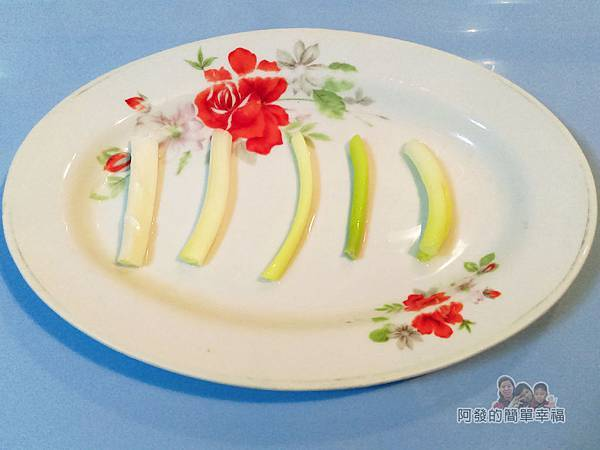 豆鼓蒸吳郭魚03-平盤擺蔥段