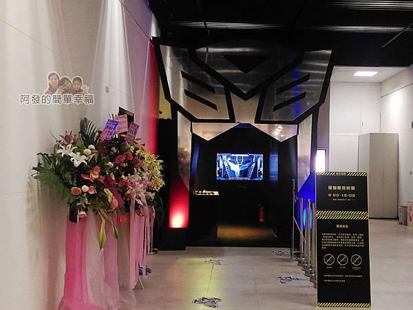 變形金剛台北特展03-入口處
