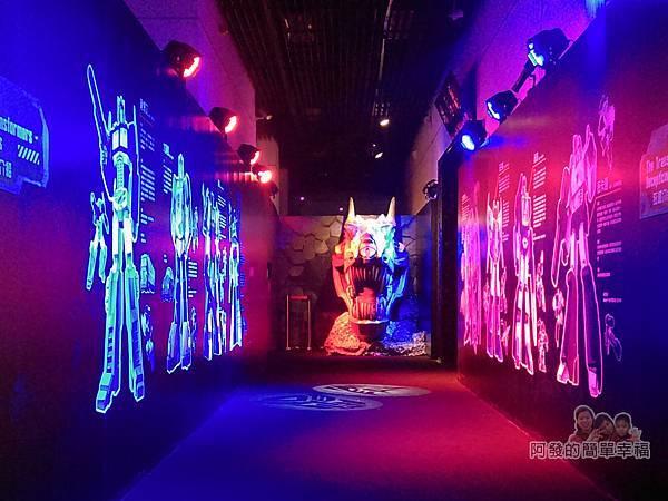 變形金剛台北特展05-基地入口區
