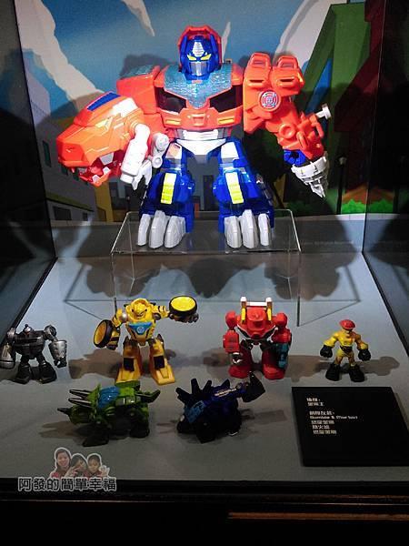 變形金剛台北特展22-變形金剛解碼-變形金剛救援金剛隊玩具