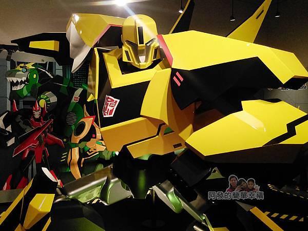 變形金剛台北特展37-變形金剛解碼-巨型大黃蜂特寫