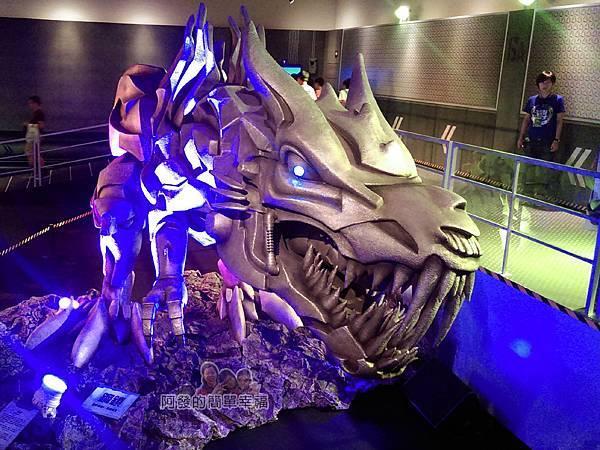 變形金剛台北特展45-絕跡重生-巨型鋼鎖龍