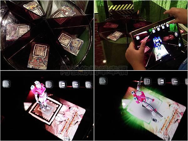 變形金剛台北特展49-絕跡重生-AR展示桌遊戲