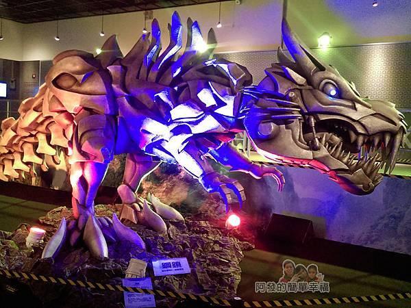 變形金剛台北特展51-絕跡重生-巨型鋼鎖龍
