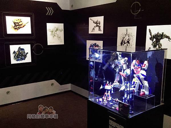 變形金剛台北特展53-收藏寶庫-展區一角