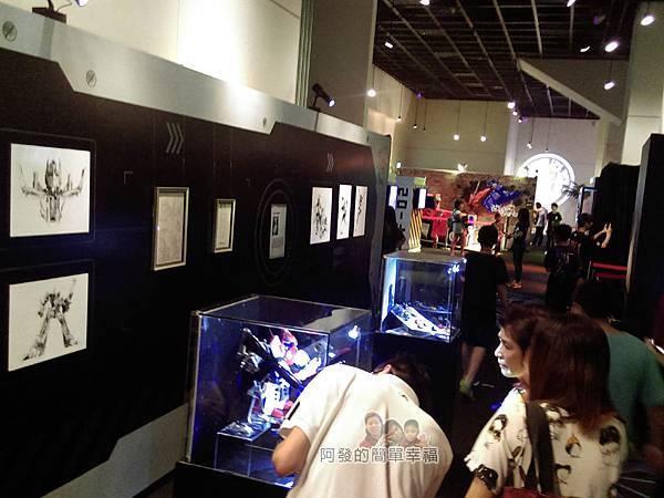 變形金剛台北特展54-收藏寶庫-展區人潮
