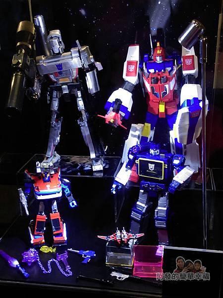 變形金剛台北特展55-收藏寶庫-傑作系列玩具