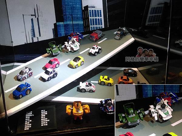 變形金剛台北特展56-收藏寶庫-Q版系列玩具