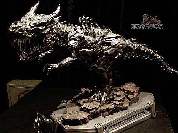 變形金剛台北特展61-收藏寶庫-鋼鎖手辦模型