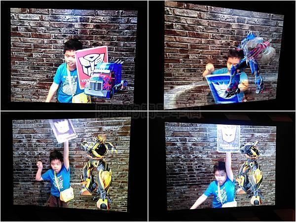 變形金剛台北特展63-收藏寶庫-AR(擴增實境)展示互動區