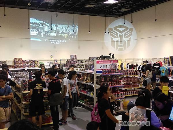 變形金剛台北特展69-紀念商品區