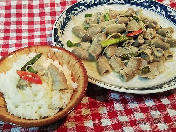 客家薑絲炒粉腸15-搭白飯