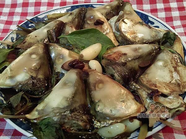 紅燒豆鼓虱目魚頭10-起鍋裝盤