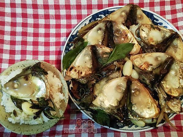 紅燒豆鼓虱目魚頭12-搭上白飯