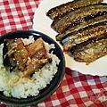 日式照燒秋刀魚13-搭上白飯