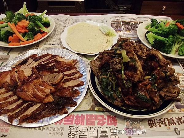 香之味烤鴨07-回家再燙個青菜就是十分豐盛的一餐