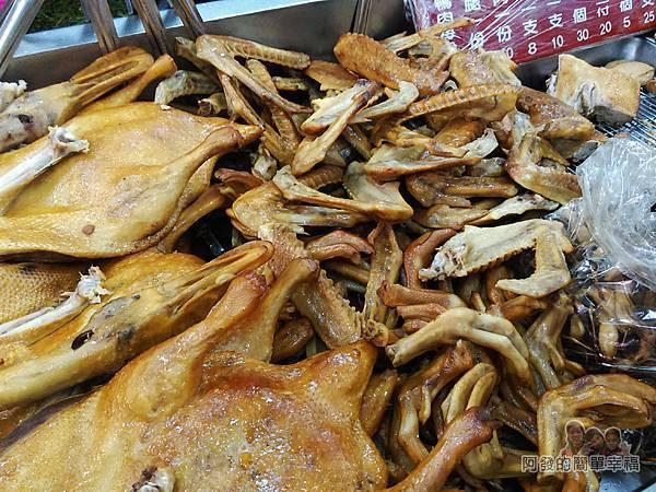 鴨肉許二姐店05-各式鴨肉與小吃滷味