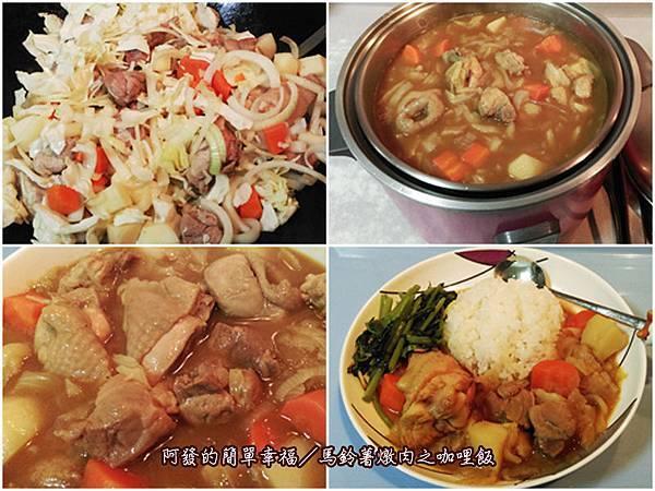 飯食04-馬鈴薯燉肉之咖哩飯