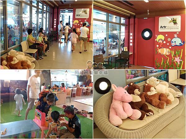 區域探索館08-4F-Artr彩繪餐廳