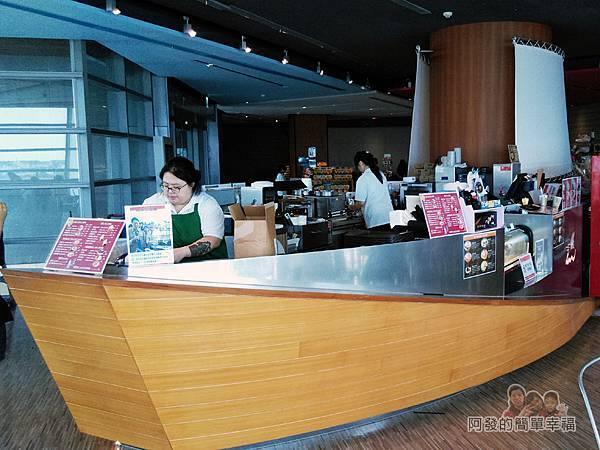 區域探索館32-2F-船型的餐飲櫃檯