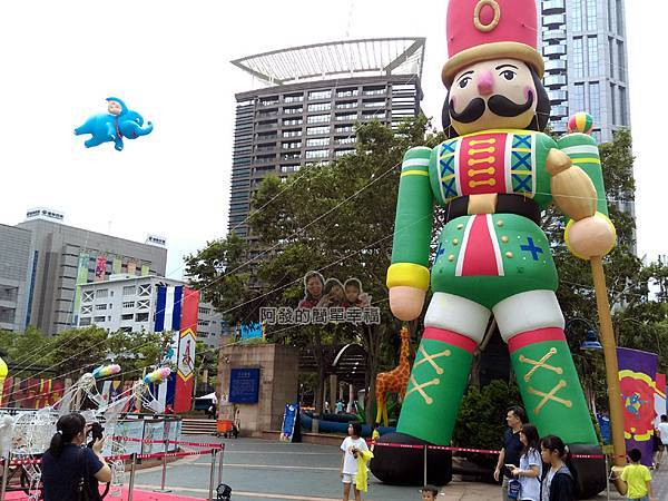 新北市兒童藝術節-童話城堡12-童話巨型裝置-胡桃鉗士兵
