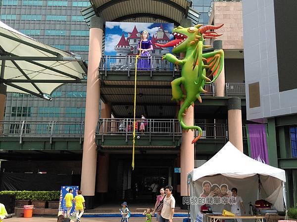新北市兒童藝術節-童話城堡13-童話巨型裝置-長髮公主