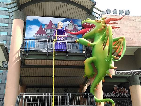 新北市兒童藝術節-童話城堡14-童話巨型裝置-長髮公主特寫