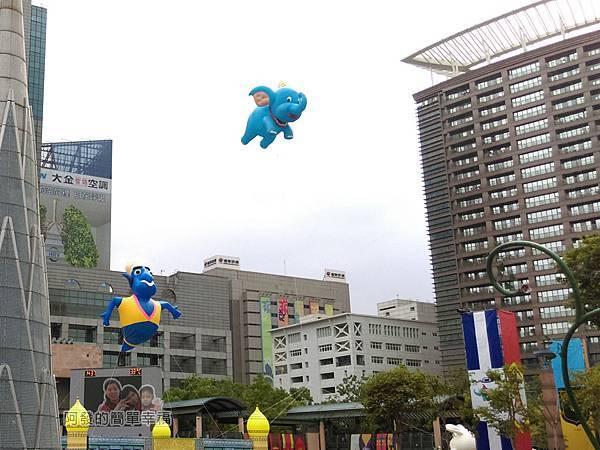 新北市兒童藝術節-童話城堡18-童話巨型裝置-小飛象