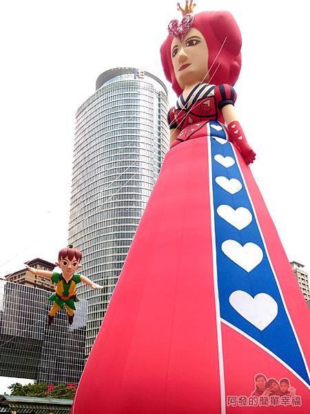 新北市兒童藝術節-童話城堡21-童話情境體驗-愛麗絲夢遊仙境之紅心皇后