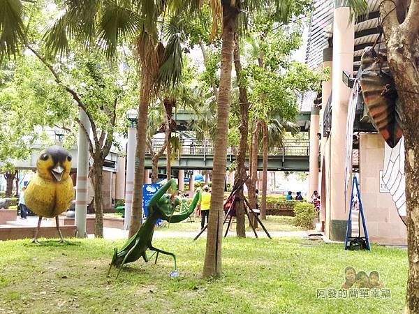 新北市兒童藝術節-童話城堡34-台灣原創童話-螳螂捕蟬 黃雀在後