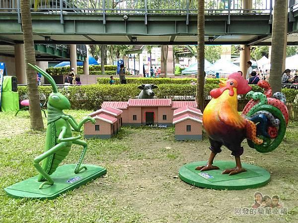 新北市兒童藝術節-童話城堡36-台灣原創童話-草蜢仔弄雞公