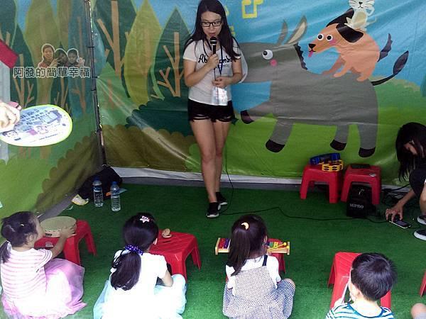 新北市兒童藝術節-童話城堡40-童話互動關卡-布萊梅樂隊