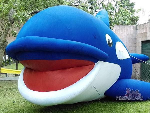 新北市兒童藝術節-童話城堡44-漏網介紹-大鯨魚