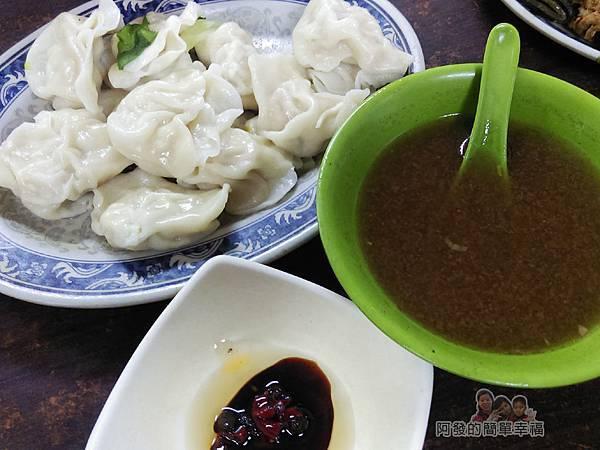 老牌牛肉拉麵大王09-水餃+牛肉清湯