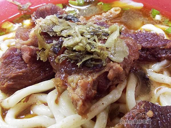 老牌牛肉拉麵大王20-牛肉拉麵+酸菜