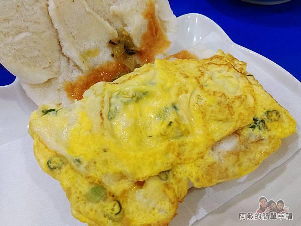 2個蛋早餐12-饅頭夾蛋蛋下有玄機
